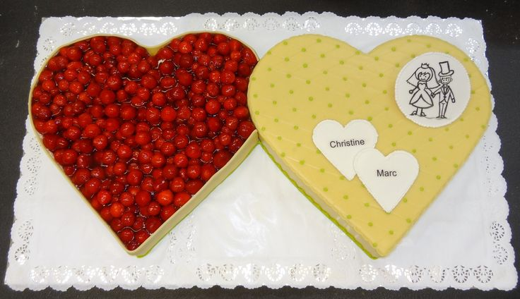 ... ideas wedding cake wedding inspiration eat hochzeitstorte zwei herzen