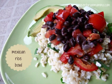 Mexican Rice Bowl (vegan) | Allergy Free Wednesday Favorites (top 8 f ...