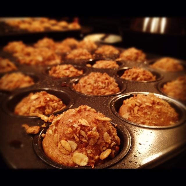 Apple Cinnamon Granola muffins   Breakfast   Pinterest