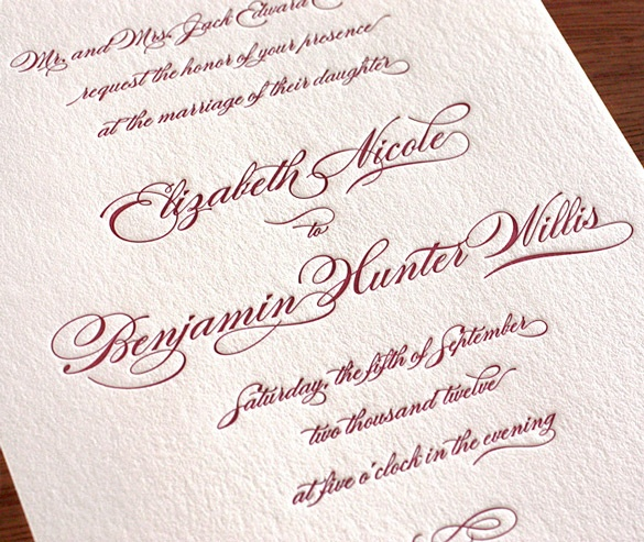 Wedding Invitation Fonts Font A Lot Pinterest