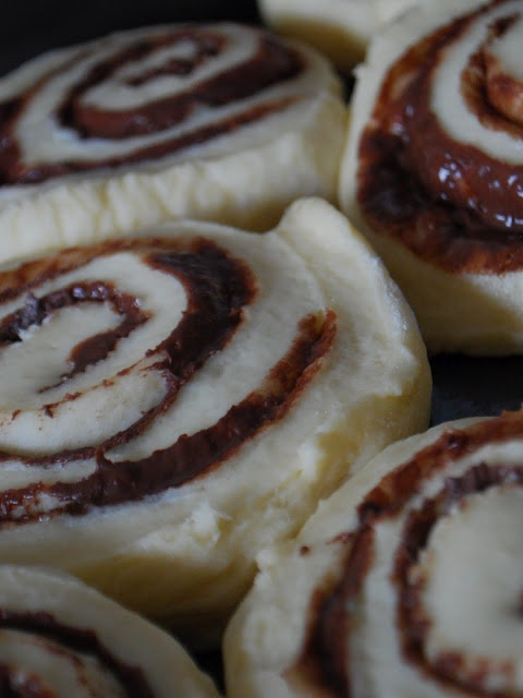 Nutella Sticky Buns | 3. Candies, Cakes and Sweet Stuff | Pinterest