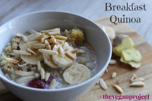 Breakfast Quinoa | Vegan Coyote | Pinterest