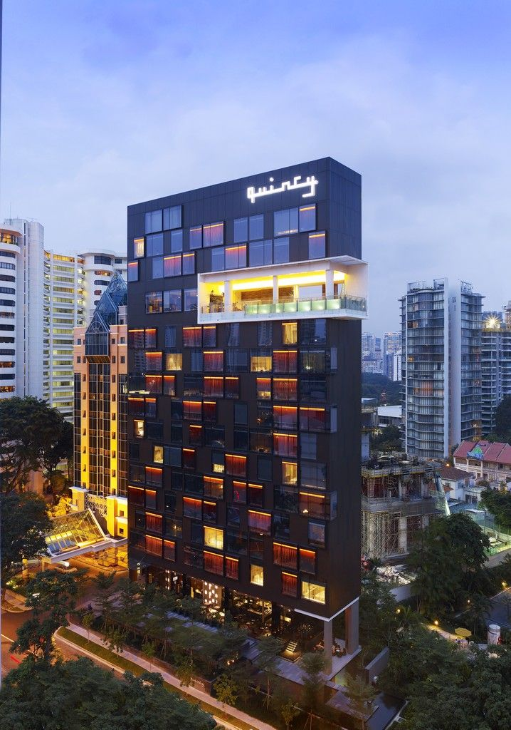 Quincy hotel mount elizabetht singapore architecture for Design hotel singapore