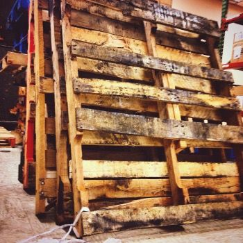 1.9 billion pallets are used daily in the U.S. and roughly 90 to 95 percent of those pallets are made of wood.