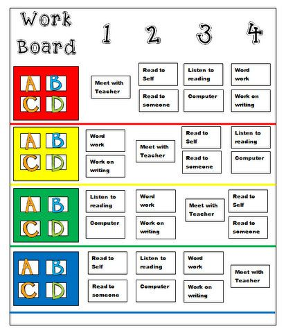 66 best Daily Five Kindergarten Ideas images on Pinterest ...