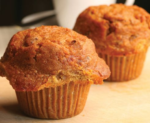Whole Wheat Carrot Cake Muffins | food | Pinterest