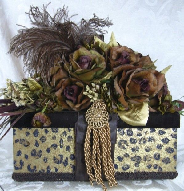 Extravagantly decorated gift box!