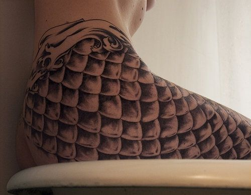Mermaid scales art pinterest for Fish scale tattoo