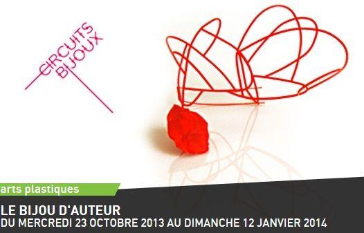 """""""le bijou d'auteur"""" - centre Wallonie Bruxelles - CIRCUITS BIJOUX [broche Nelly van Oost]"""