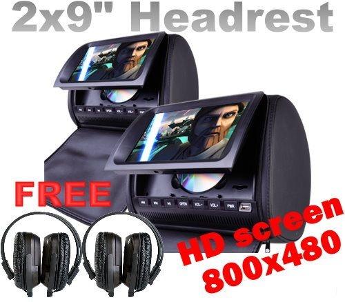 Best Headrest DVD Players 20Top Headrest DVD Units