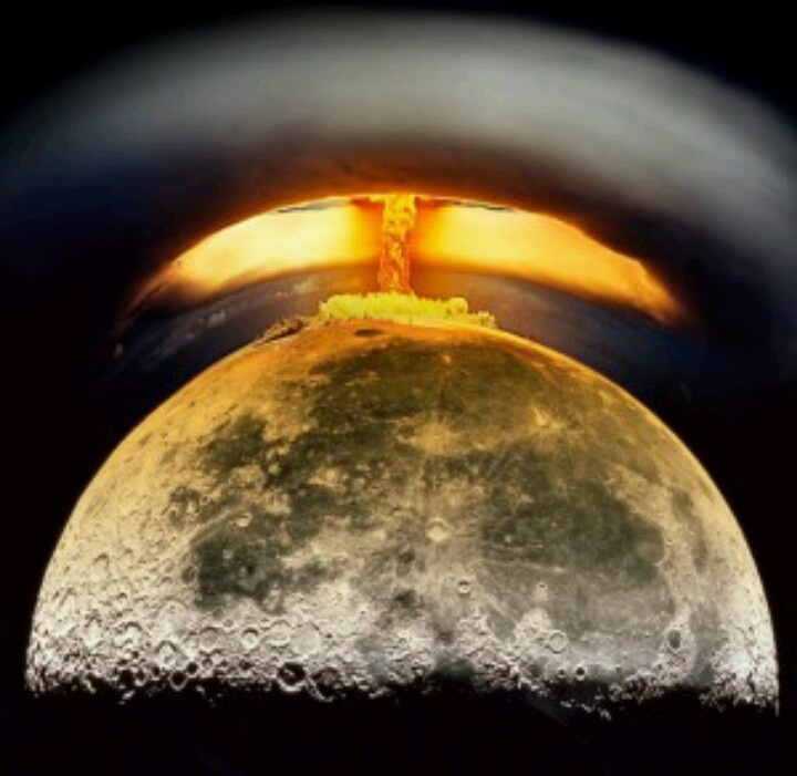 Us air force had a plan to nuke the moon according to a declassified