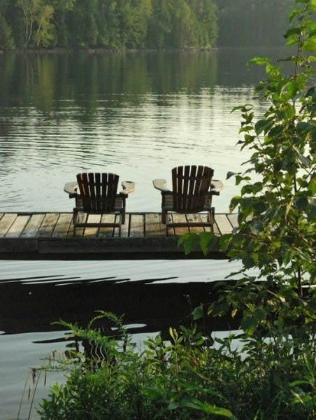 adirondack chairs by the lake chairs and seats pinterest