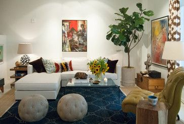 free handbags eclectic living room by Adrienne DeRosa  Living Rooms