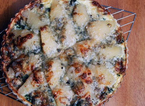 ... com blue cheese and pear tart recipe yummly pear and blue cheese tart