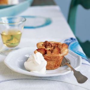 Roasted Apple and Walnut Tarts. individual, healthier, and simple ...