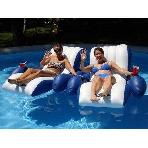 Intex Floating Recliner Lounge - Mom