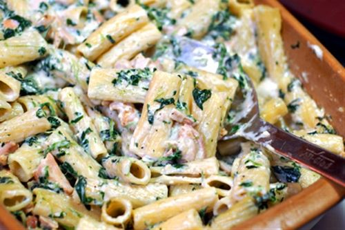 Grilled Chicken Rigatoni Florentine | Recipes | Pinterest
