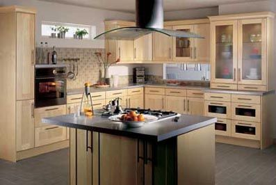 Natural Maple Kitchen Cabinets For The Home Pinterest