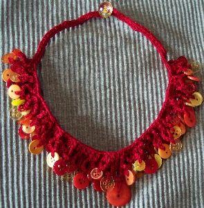 Crochet Button Necklace Pattern – Crochet Club