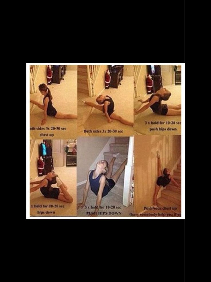 Back Flexibility Stretches Cheer Stretches for leg and back