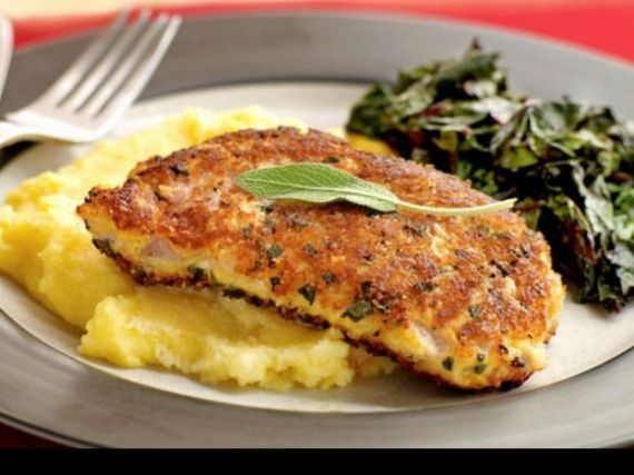 Parmesan and sage–crusted pork chops | Recipes | Pinterest