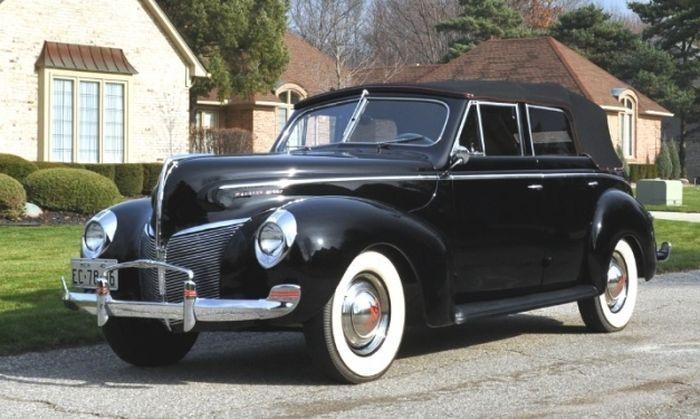 1940 mercury eight convertible sedan cars pinterest for 1940 mercury 4 door convertible