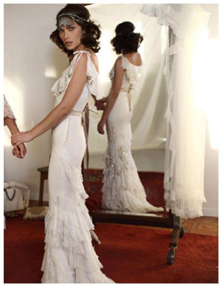 Flapper Inspired Wedding Dresses - Rose Bridesmaid Dresses