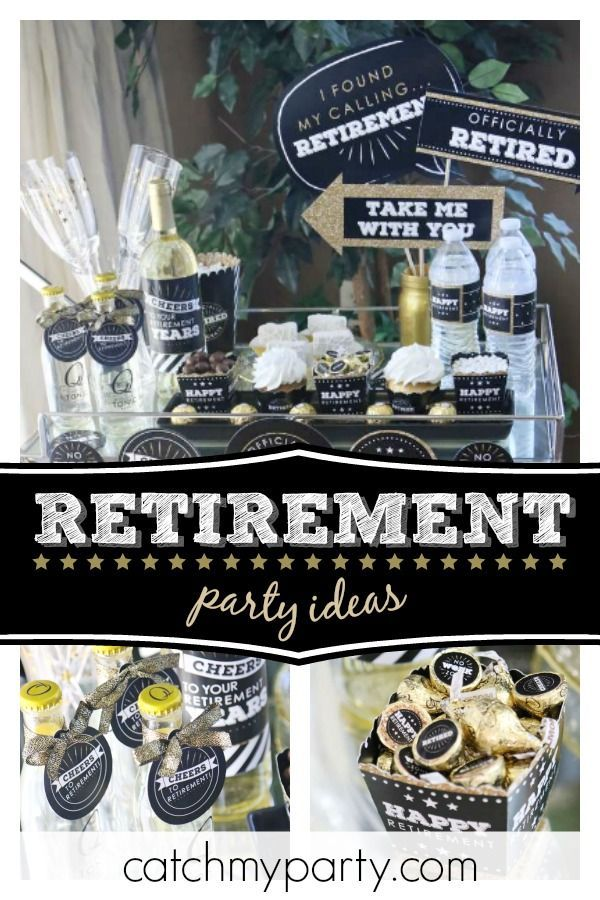 Retire In Style With This Great Retirement Party The Photo Booth Props Are Really Cool See