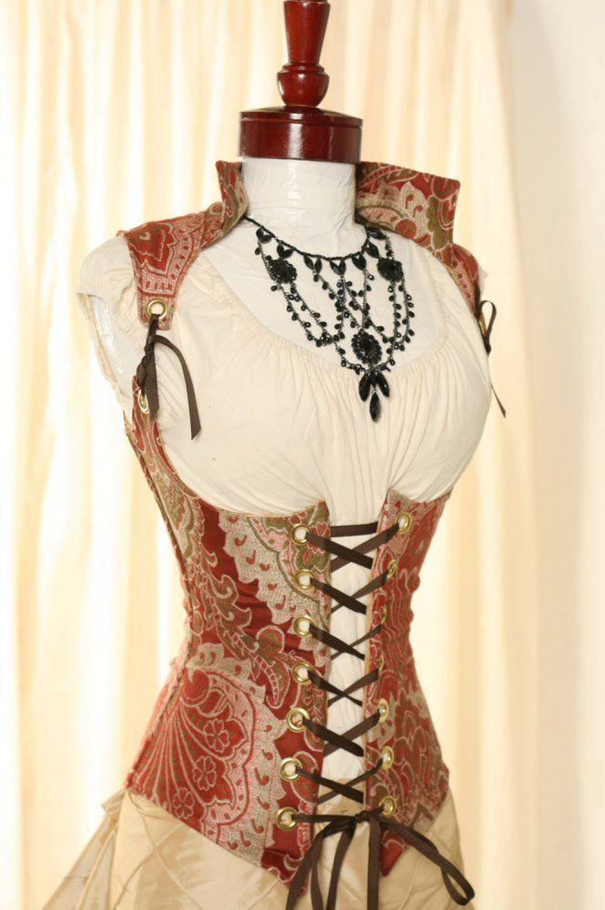 Renaissance Vixen Corset by Damsel in this Dress