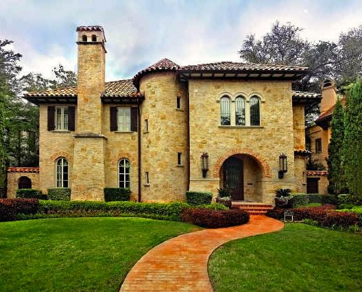 tuscan style home mediterranean spanish style