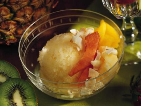 Tropical Fruit Ice | KitchenDaily.com