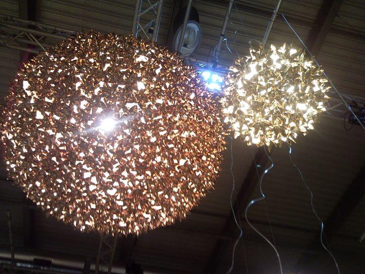 da Kartell lampadari di design in colori differenti rame - oro ...
