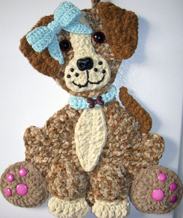 Crochet puppy Dog, by Jerre Lollman