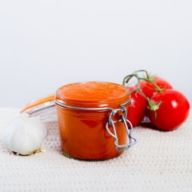 Homemade Spicy Tomato Ketchup | Saucey | Pinterest