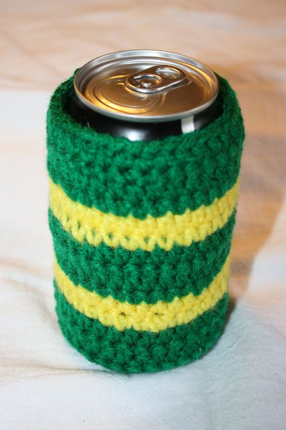 Crocheted NFL Team Coozies
