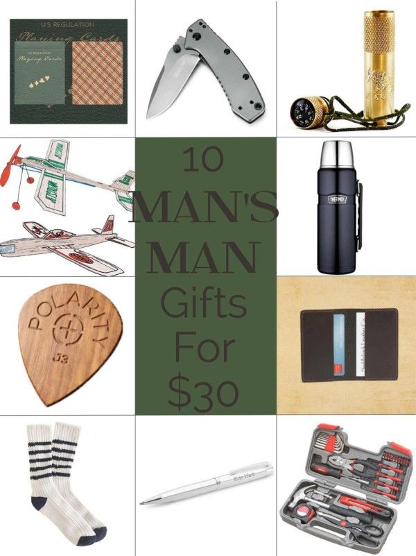 10 manly christmas gift ideas for 30 or less