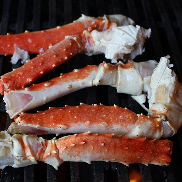 Alaskan king crab meat