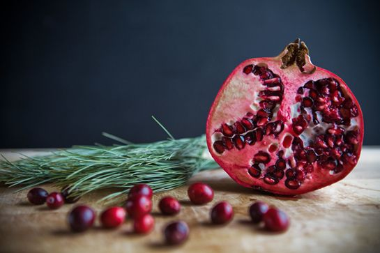 Some the Wiser: Winter Breakfast Fruit Crisp: Pear, Pomegranate ...