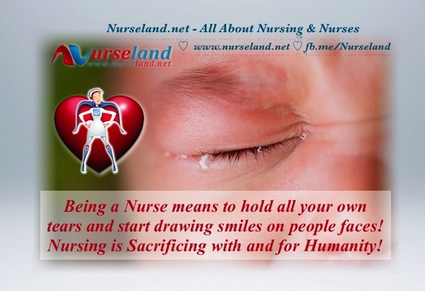 all about being a nurse