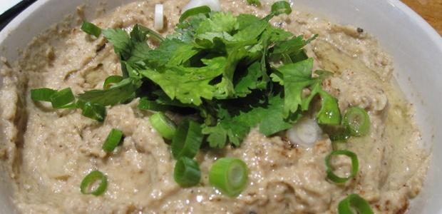 Baba Ghanoush – Roasted Eggplants With Garlic, Olive Oil & Tahini ...