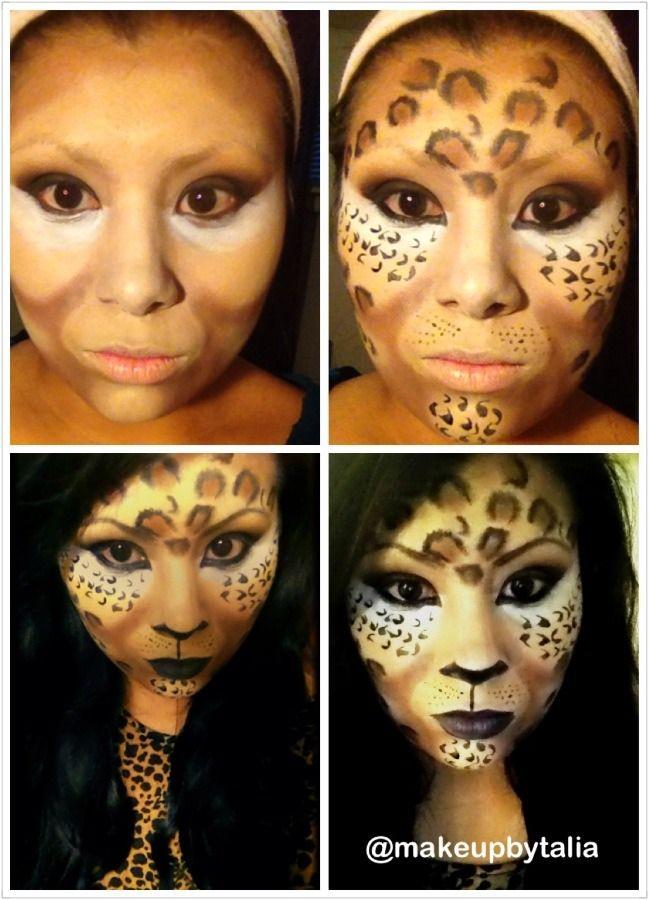 foto A Super-Easy Leopard Eye Makeup for Halloween Video