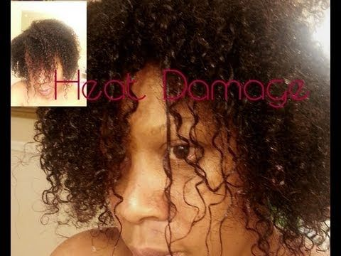 Heat Damaged Natural Hair