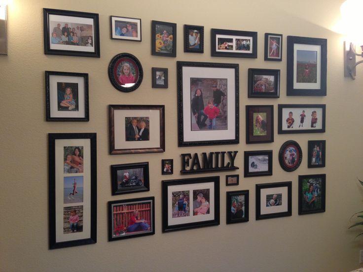 Frame Wall Arrangement Home Decor And Ideas Pinterest