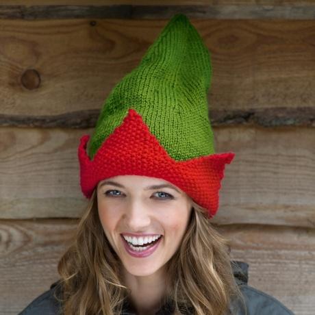 Knitting Pattern Elf Hat : elf hat knitting pattern knitting Pinterest