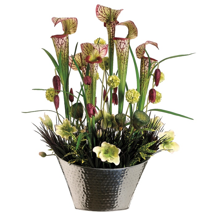 Pin by freija mateboer on bloemstukken boeketten pinterest for Garden arrangement of plants