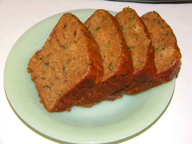 Zucchini & Crushed Pineapple Bread | Food-ect cooking tips | Pinterest