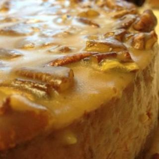Pumpkin Maple Pecan Cheesecake - Anne Thornton