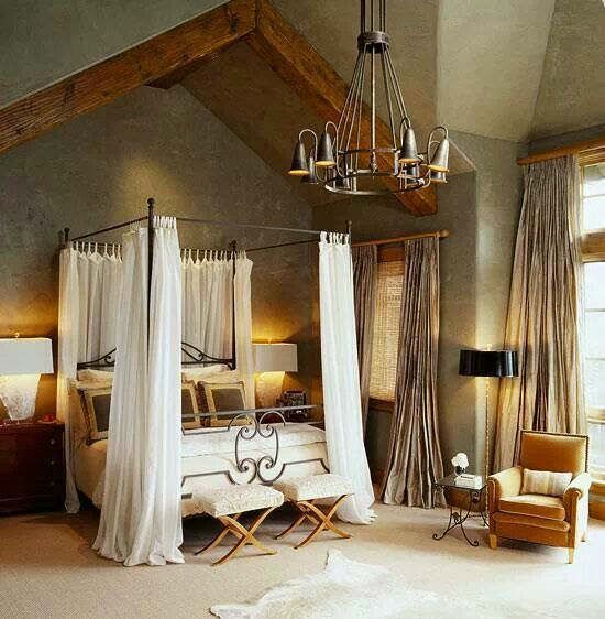 50 rustic bedroom decorating ideas Traditional rustic master bedroom