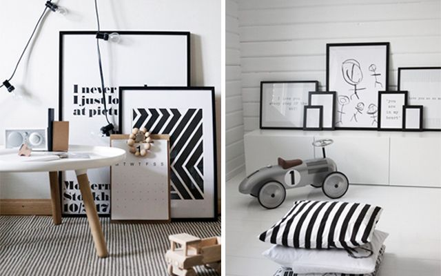 Ideas para la colocación de cuadros | Barbed