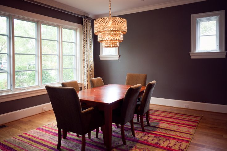 Simple dining room unique lighting unique dining spaces Cool dining room lights